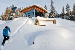 Mike Basich snowboarder house