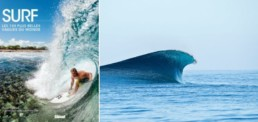 livre surf les 100 plus belles vagues du monde