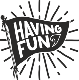 logo blog having fun
