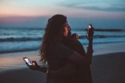 digital detox sunset